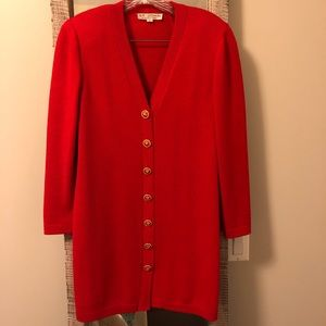 St. John - Two-Piece Red Suit